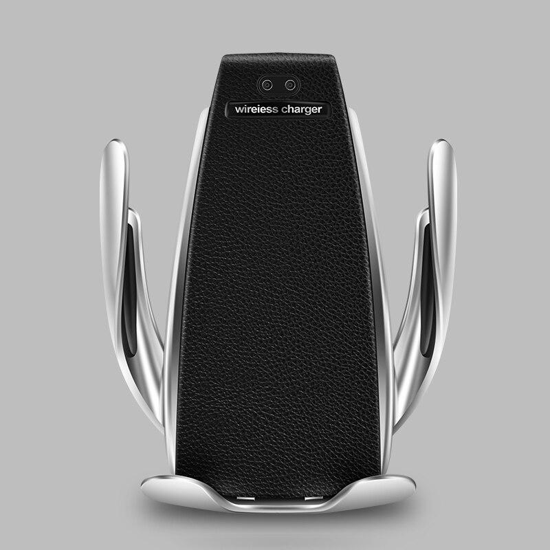Drahtlose Auto Ladegerät für iPhone Samsung Huawei Smart Auto Clamp 10 W Qi Schnelle Lade Auto Montieren Drahtlose Telefon Ladegerät halter 10 W