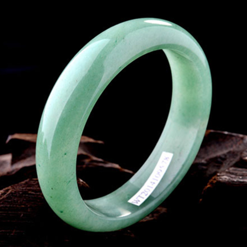 Drop shipping High Quality Natural Green DONGLING Jades Bracelets Fashion Round Bangles Gift for Women Fashion Jewelry hot hair cuff clip jewelry hairpin womens accessories xmas gift star leaf drop shipping high quality s16 drop shipping