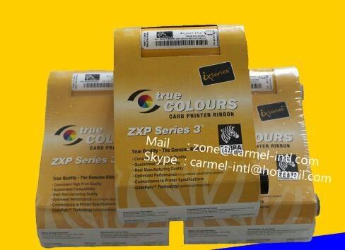 New Original Zebr ZXP Series 3 Card Printer ZXP3 Color Ribbon 800033-340CN04 Color High Capacity Ribbon - YMCKO - 280 Prints original evolis r5f008saa ymcko color ribbon work on zenius and primacy printer