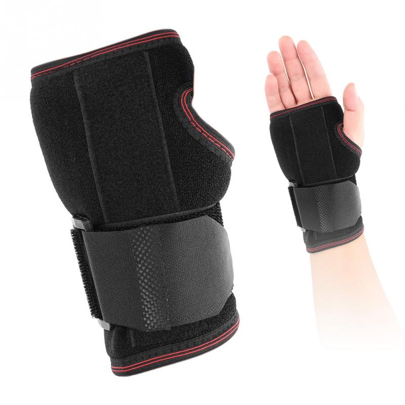 Adjustable Breathable Wrist Brace Hand Support Fracture Ligament Injury Arm Protection Strap Wrap