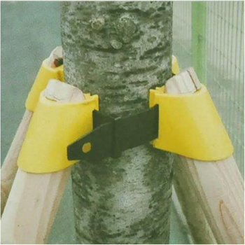 3 Tailles Jardinage TPR Arbre Fruitier Fixation Support Outil Plante Coupe-vent Support Protection Reliure Kit De Support