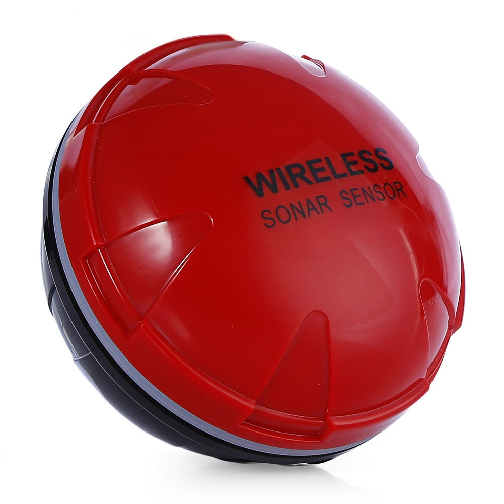 WiFi Wirele Bluetooth Smart рыбопоисковый сонар IOS Android смартфон рыболокатор Shore планшет лодка 125 кГц озеро 36 м приложение море - Цвет: red
