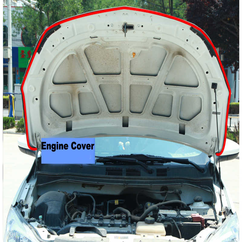 JQTUNING-D & B typ samochodu pasek uszczelniający Auto drzwi okno uszczelka bagażnika pyłoszczelna izolacja akustyczna gumowe paski