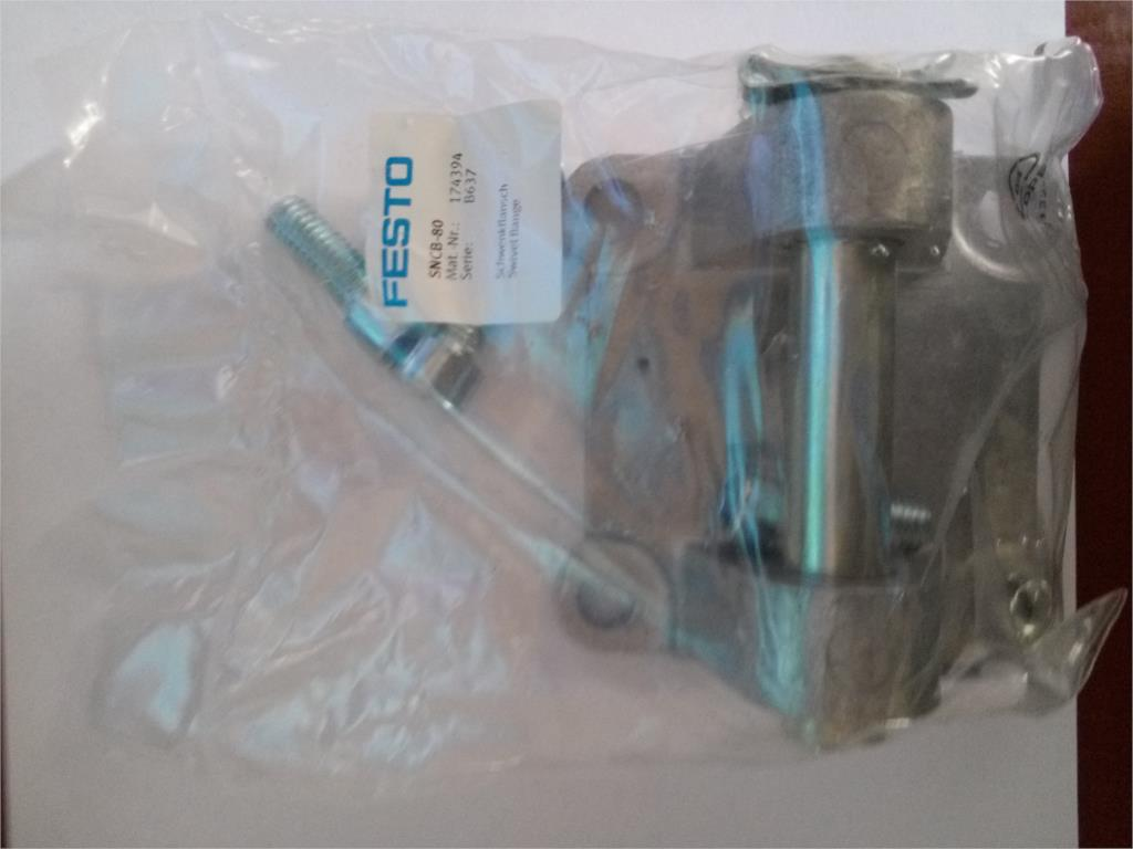 New Festo FESTO Double Earrings Installation SNCB-80 174394 festo lbn 12 16 double earring support 6058