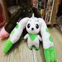 Новые Аниме Приключения Дигимонов Terriermon Длинные Плюшевые уши кукла игрушка подарок 30 см