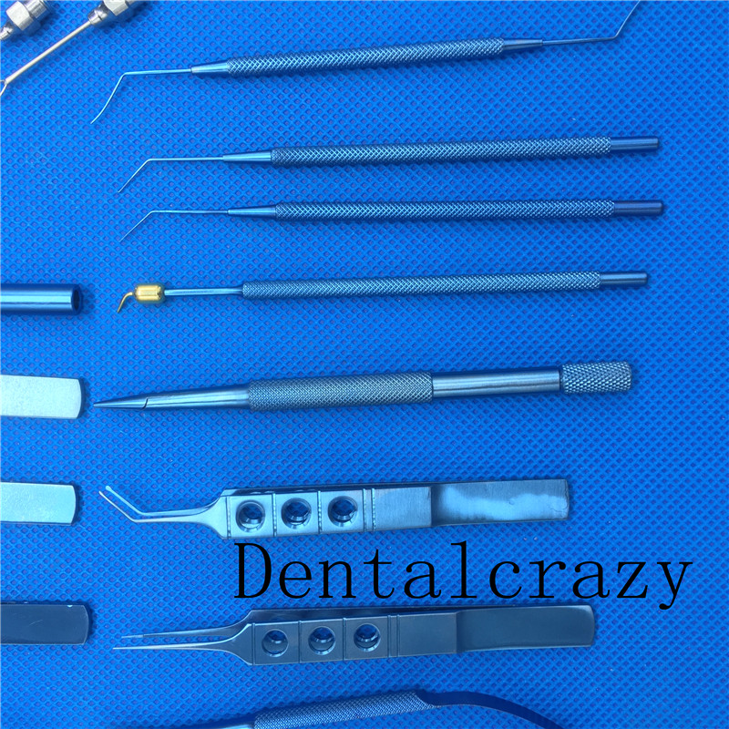 instrumento cirúrgico olho micro cirurgia ferramentas