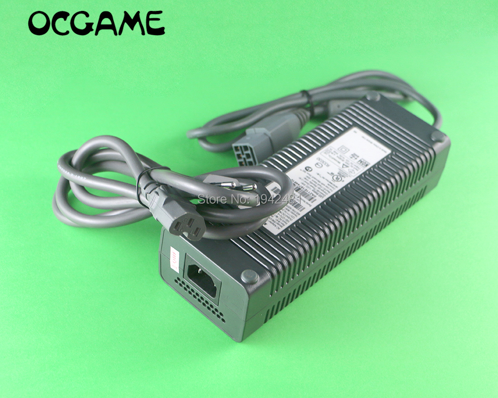 OCGAME Original AC Adapter Power Supply for XBOX 360 phat Charging Charger Power Supply for Xbox 360 Fat supply power    - title=