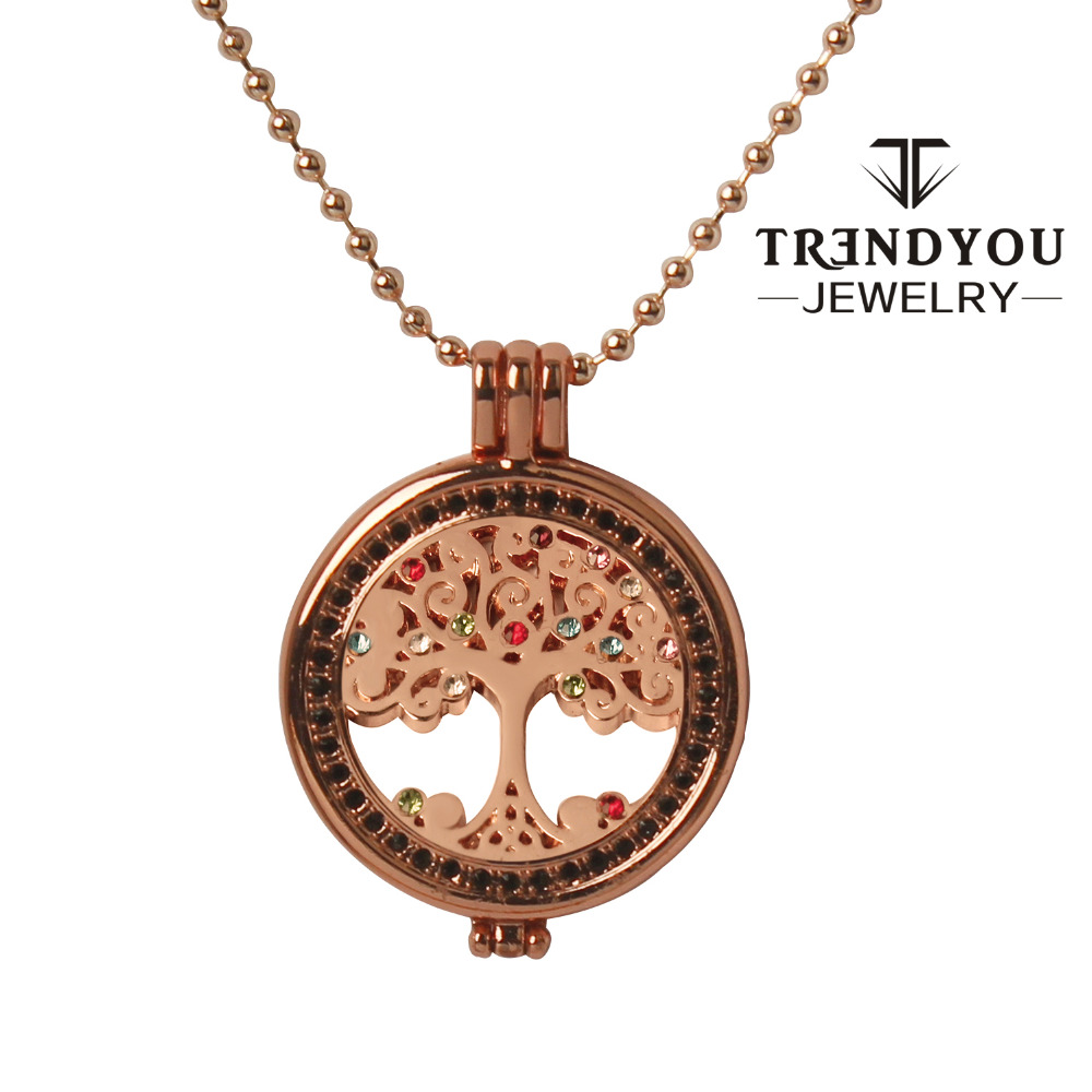 tree from in of item necklace pattern floating necklaces life trendyou coin jewelry my pendant lockets charms