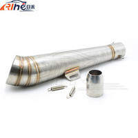 New Motorcycle Staainless Steel Motorcycle Exhaust Pipe Modified Fried Tube Gp Exhaust Pipe For YAMAHA Tmax