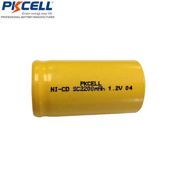 25Pieces 1.2V Batteries SubC 2200mAh NiCd Rechargeable Batteria Power tool battery Flat Top 10C High Drain Batterie