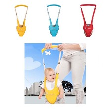 New Baby Walker Infant Toddler With Assisted Reinforcement Basket Type Traction Belt Safety Reins Harness