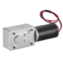 UXCELL(R) 1Pcs 12V 160RPM DC Worm Gear Motor 3kg-cm Reversible High Torque Speed Reduce Turbine Electric gearbox motor 8mm Shaft rs555 dc hobby motor turbine generator 12 v 5500rpm high torque