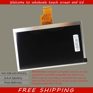 Free shipping 7 inch(1024*600) 40pin LCD screen,100% New display,size:165*105mm Tablet PC LCD screen TXDT700CPLA-42 TXDT700CPLA