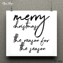 ZhuoAng Christmas Words Clear Stamp for Scrapbooking Rubber Seal Paper Craft Stamps Card Making
