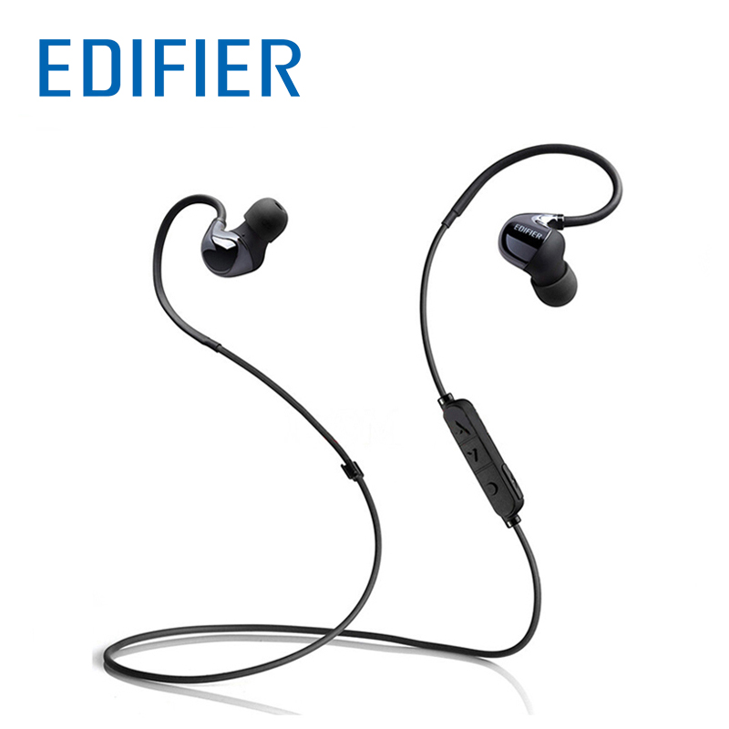 EDIFIER W295BT Bluetooth Earphones Stereo Sound Wireless Bluetooth In ear Sport Headset IPX4 Sweatproof Waterproof Earphone