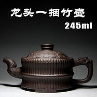 A Bunch Of Bamboo Pots Yixing Purple Sand Pot Pure All Hand Authentic Products Teapot Tea