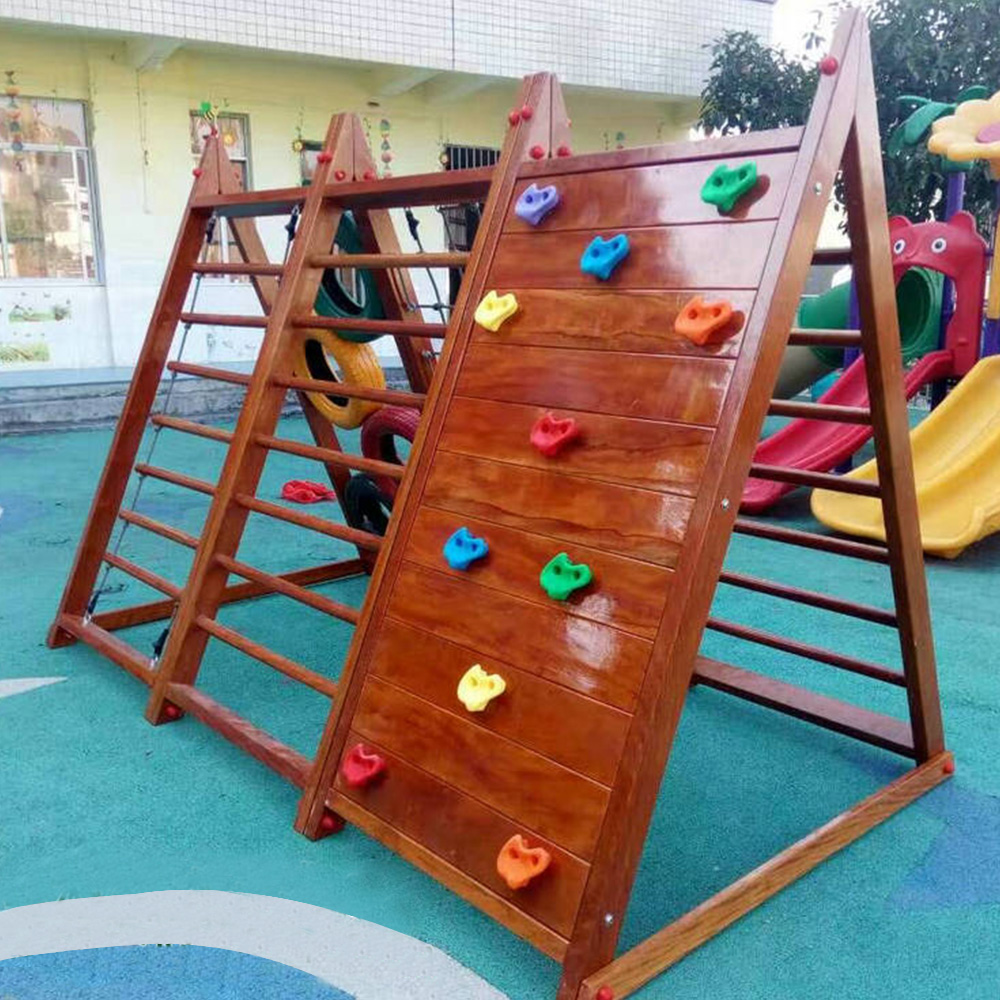 5pcs Set Plastic Climbing Wall Rock Holds Outdoor Toy Kits Stone Training Playing Outside In Sports From Toys