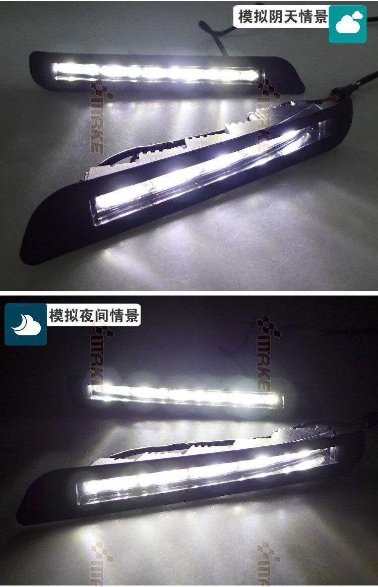 Osmrk led drl daytime running font b light b font for Lexus LX570 LX460 2012 2013
