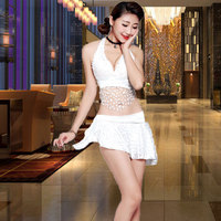New Sexy Night Club Women's Separate Dresses Stage for KTV Princess Dresses at Night Stage dj costume