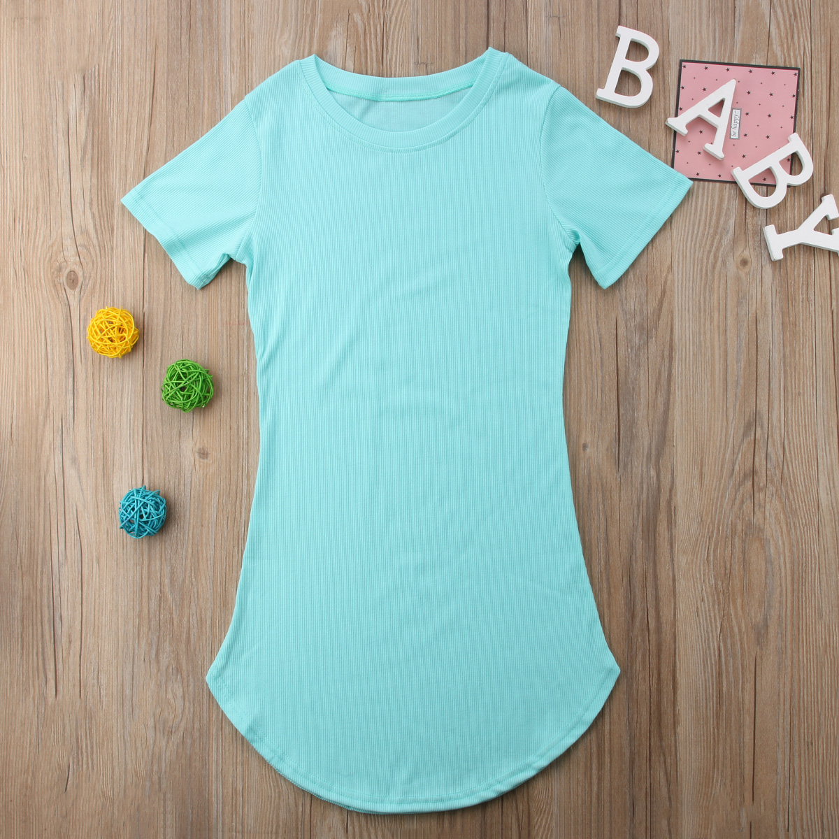 HTB1QbCHKh9YBuNjy0Ffq6xIsVXa5 2019 Summer Mom Daughter Short Sleeve T shirt Dress Family Matching Outfits Baby Kid Women Party Dresses Cotton Clothes Dropship