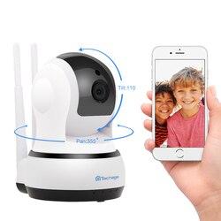 Techage Yoosee 1080 P 720 P cámara IP inalámbrica seguridad CCTV Wifi dos-forma de vigilancia de Audio Monitor de bebé noche cámara de visión