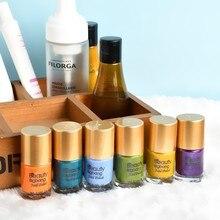 1 бутылка BEAUTYBIGBANG, 6 цветов, лак для ногтей, доступный гель для штамповки ногтей, цветной лак для ногтей