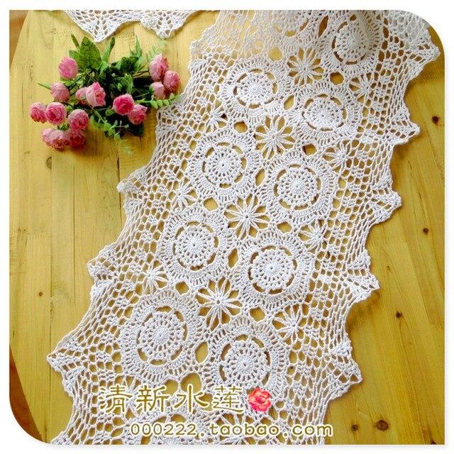 2016 nueva moda hecha a mano gancho aguja de algodón crochet el paño ...