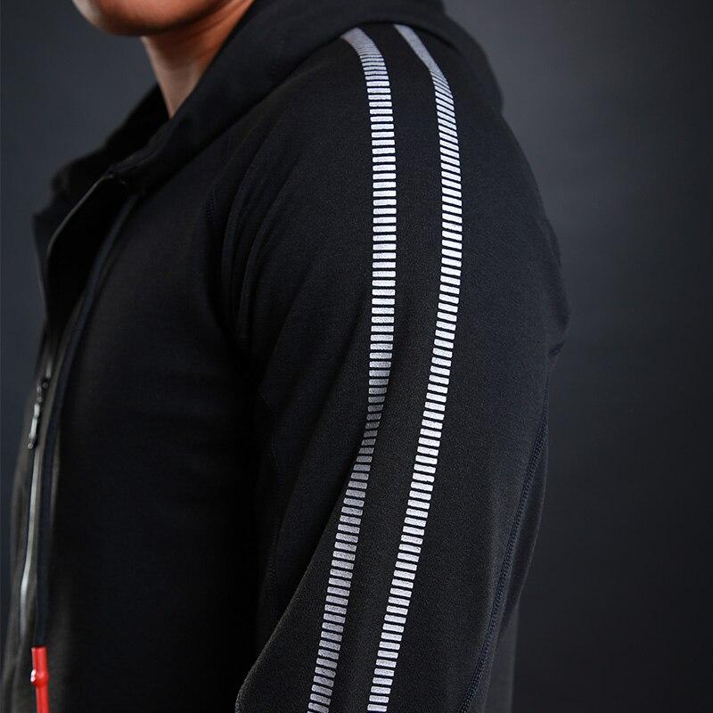 6 teile/satz Männer der Trainingsanzug Gym Sets Fitness Compression Sport Anzug Kleidung Laufen Jogging Sport Tragen Übung Workout Strumpfhosen - 4