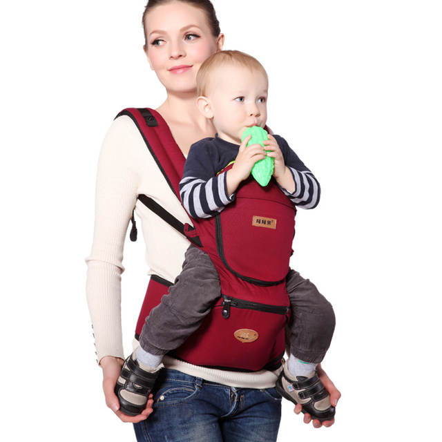 Multifunction Outdoor Organic cotton baby carrier Sling baby backpack high grade Activity&Gear suspenders