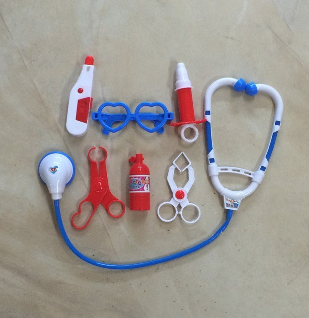 Kit de Brinquedos Para As Crianças Pretend Play Doctor Role Play Brinquedos Clássicos Simulação Pretend Play Doctor Play Set Brinquedos do Hospital para crianças