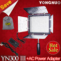 YONGNUO YN300 III YN-300 III 5500K CRI95 LED Video Light Panel with AC Power Adapter for Sony Canon Nikon Camera Camcorder