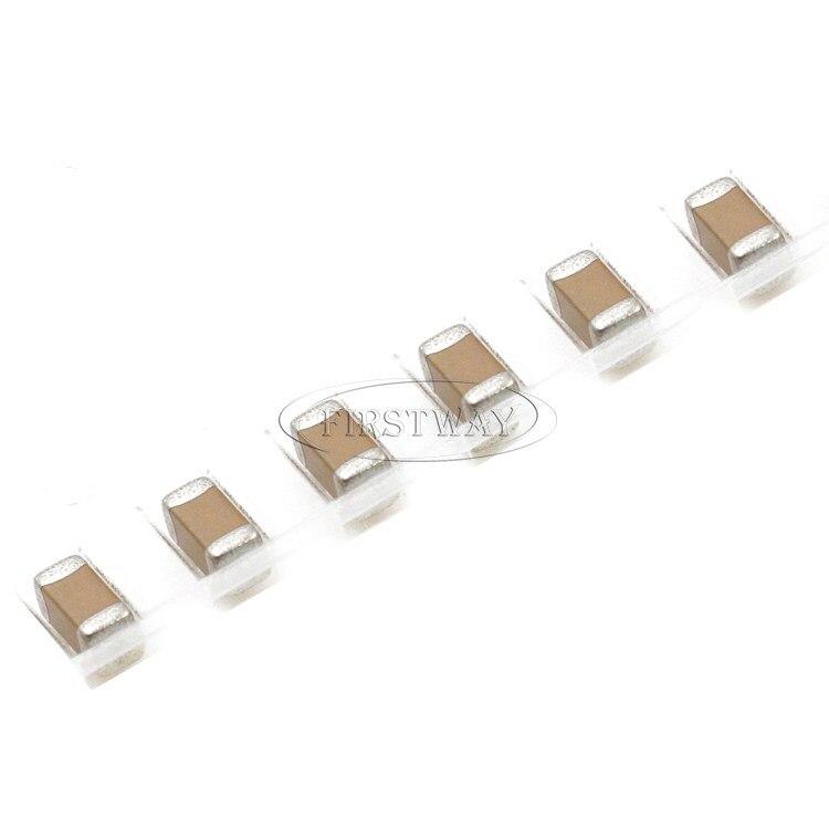 Chip Condensateur 1pF ~ 100uF SMD Condensateurs Céramiques Assortiment 3216 50 PCS 1206