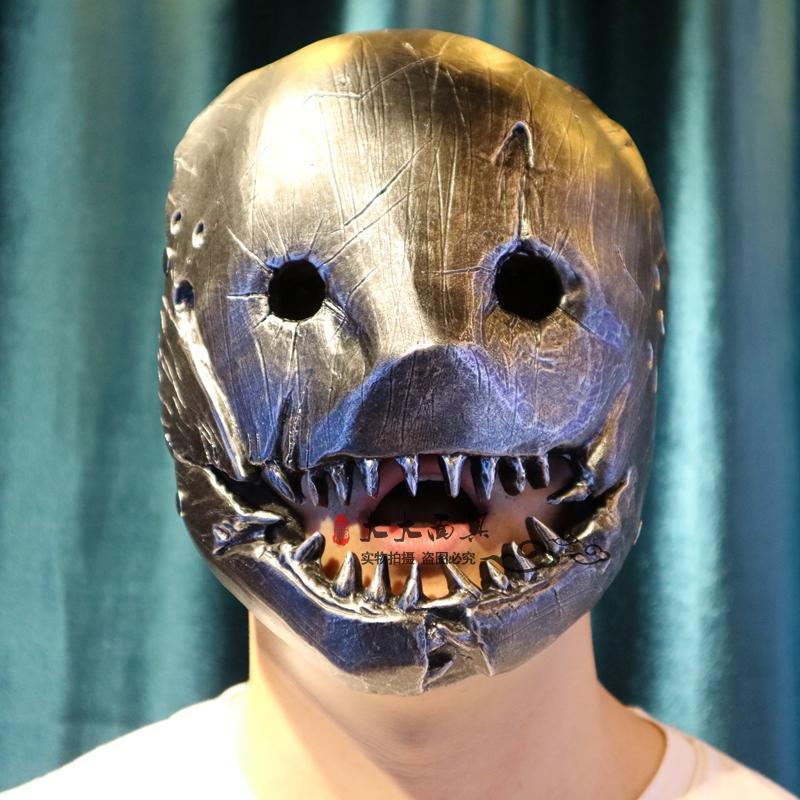 Игры Косплэй погибших при дневном свете Траппер Маски для век Глава шлем реквизит смолы  ...