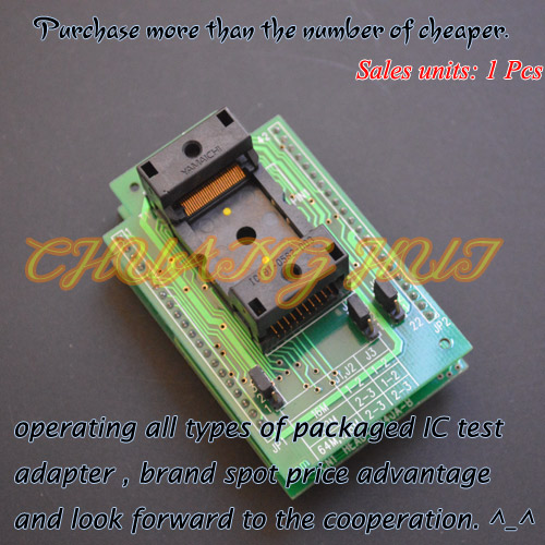 HEAD-FMEM-TS56 Programmer adapter for HI-LO GANG-08 Programmer adapter clamshell qfp144 lqfp144 tqfp144 su h8s2505 tq144 programmer adapter for lp programmer