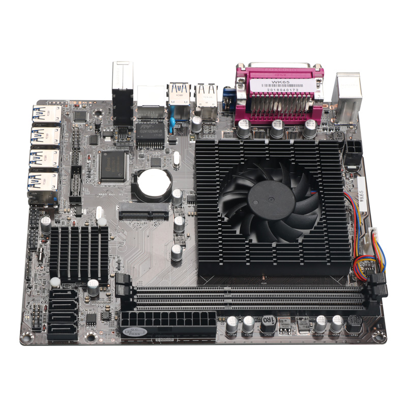 New WK 65 motherboard 8 card motherboard USB3.0 mining main board PCIE mining main board-in Instrument Parts & Accessories from Tools    1