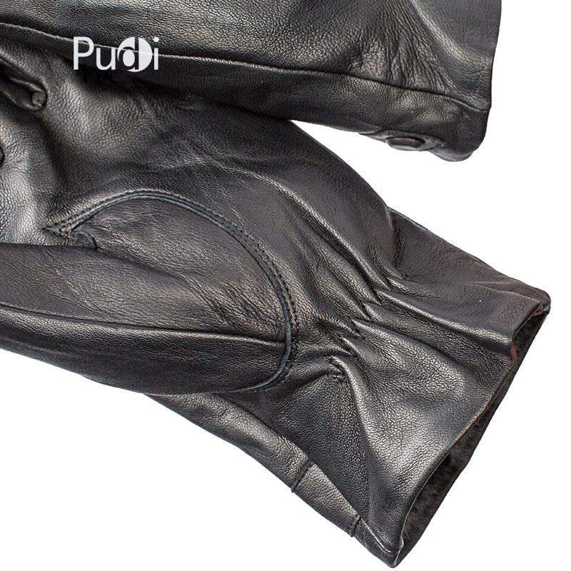 GL7015 pria kulit asli sarung tangan merek gaya baru Rusia musim - Aksesori pakaian - Foto 5