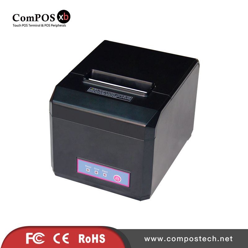 80mm thermal printer w/cutter Factory straight hair wholesale cheap price POS printer cash register equipment printer 15 inch android all in one pos system dual screen touch cash register and 80mm thermal printer and 410mm pos cash drawer