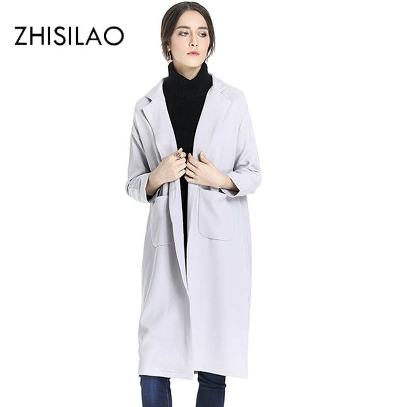 ZHISILAO 2017 Winter Woman Coat Chic Vintage Winter Coat Women Pull Poncho Kpop Christma ...