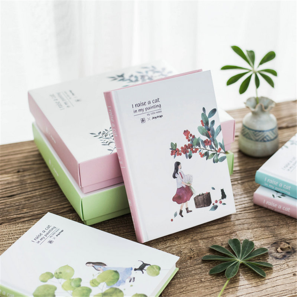 Notebook Dokibook Set Simple Travel Journal Schedule Planners Weekly Diary Notebook School Supplies for Girl Gift new arrival weekly planner thumb girl notebook creative student schedule diary book color pages school supplies no year limit