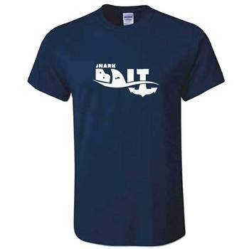 Shark Bait TShirt - Mens Surfer Surf Board Funny T Shirt Great White Hammer Head  Cool Casual pride t shirt men Unisex New