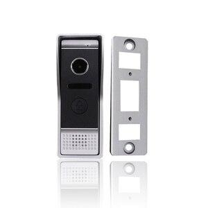 Image 2 - Homefong  7 Inch  Video Door Phone Recording HD 1200TVL 1  IR Night Doorbell Camera and 2 Hands Free Monitor Intercom Doorbell