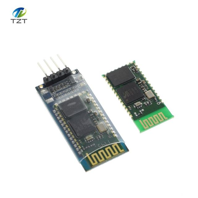 1PCS/LOT HC-06 Wireless Serial 4 Pin Bluetooth RF Transceiver Module RS232 TTL for Arduino 100% new original