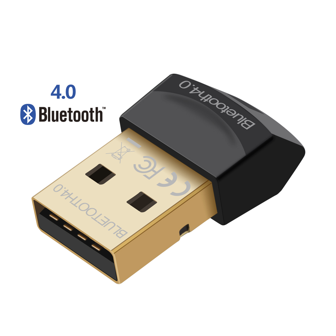 Mini USB Bluetooth-adapter V4.0 CSR Draadloze Bluetooth Dongle 4.0 zender voor computer PC Laptop Windows 10 8 7 Vista XP