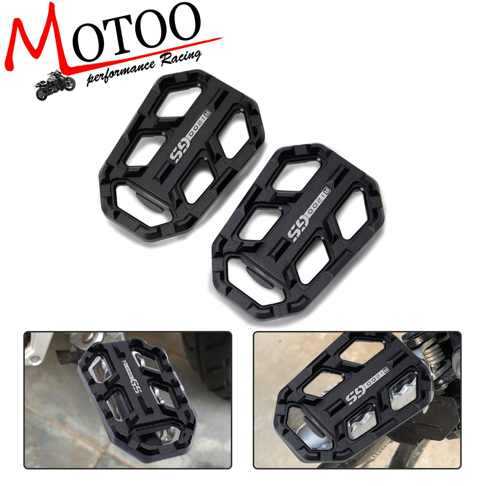 Motorcycle Wide Foot Pegs Pedals Rest Footrest Footpeg For F750GS F850GS G310GS R1200GS S1000XR R Nine T Scrambler Urban/GS