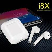 I8X TWS Мини Bluetooth наушники беспроводные наушники True беспроводные Внутриканальные наушники Kulaklik Handsfree Ушные телефоны