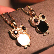 Best Vintage Owl Necklace Jewelry Cheap