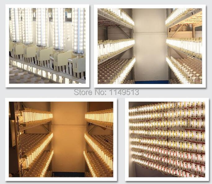 Купить с кэшбэком LED R7S light 78mm 5w 118mm 10W ceramics body R7S lamp 15mm diameter J78 J118 R7S  perfect replace halogen lamp