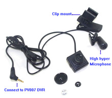 Square Wearable Miniature Video CCD Camera 25*25mm With Exchangeable Lens