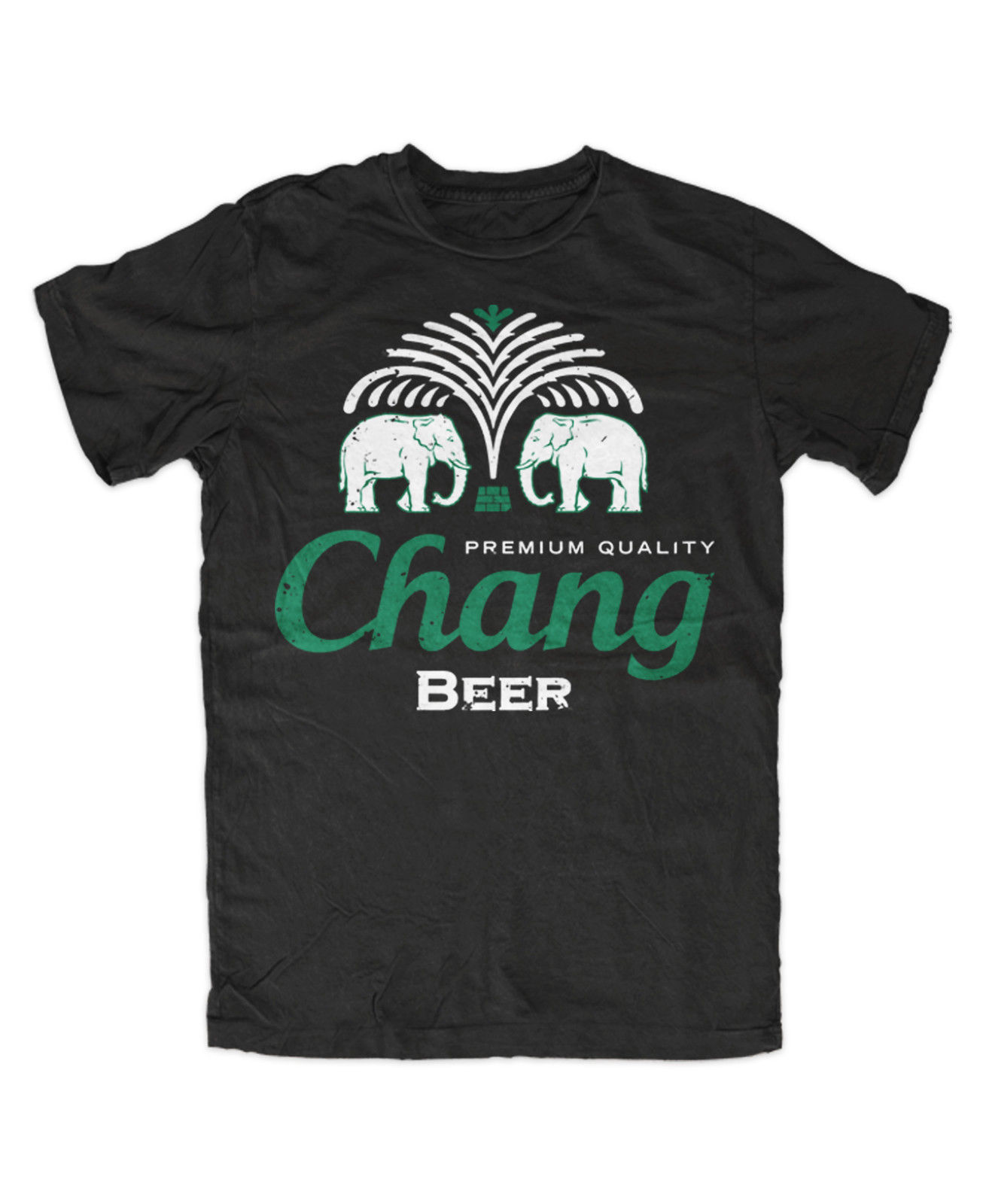 Chang Beer Premium T-Shirt Thailand,Elefant,Bangkok,Logo,Hangover,Fun,Kult, Men 2018 Brand Clothing Tees Casual Top Tee