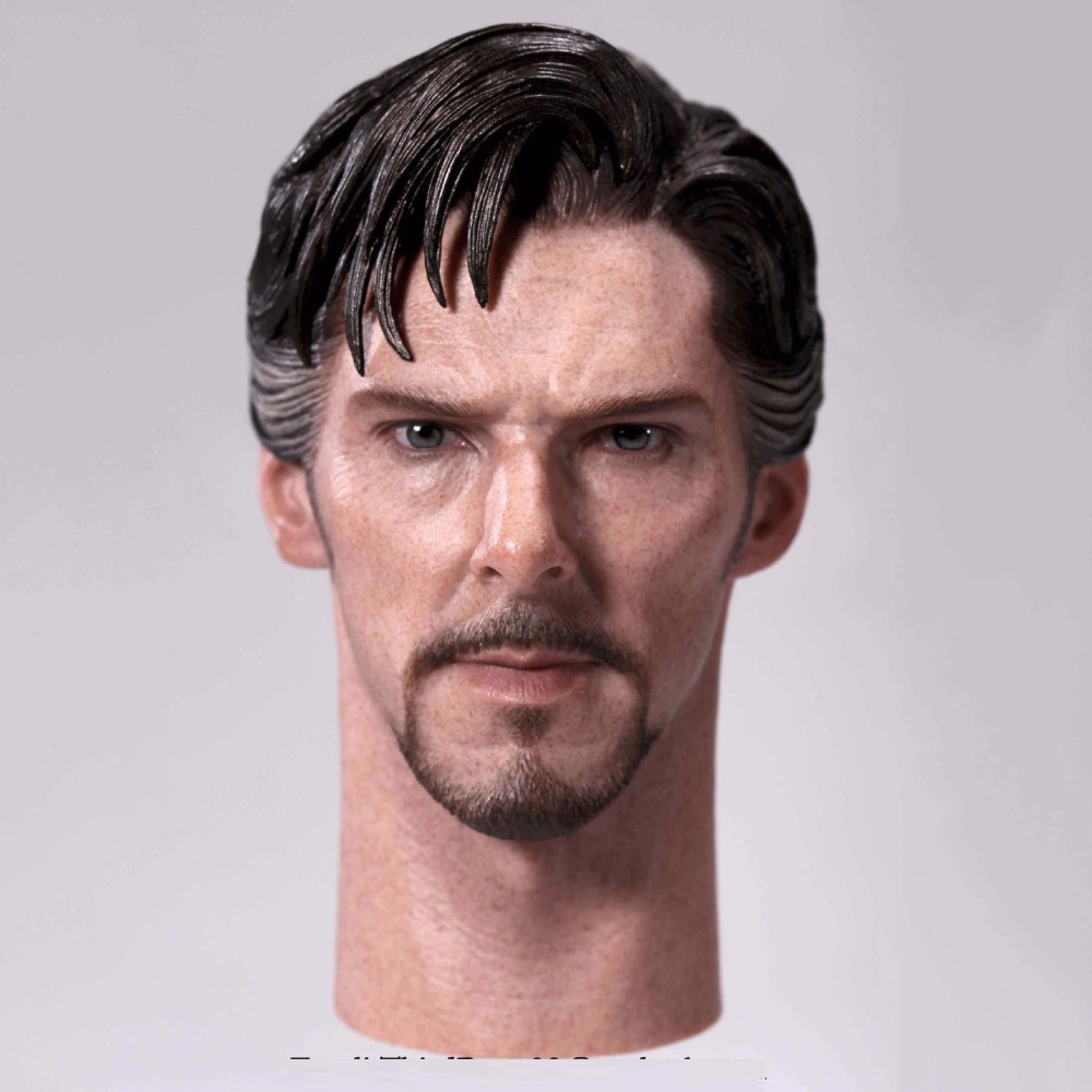 16 Doctor Strange Benedict Cumberbatch Carved Head Sculpt F